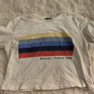 """""""Biarritz"""" Brandy Melville Crop Top"""